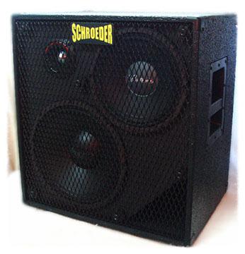 Schroeder Cabinets. Hand Built Bass Cabinets.