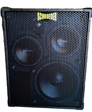 Marvelous Schroeder Cabinets. Hand Built Bass Cabinets.